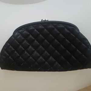 30% off CHANEL Handbags - Chanel Lambskin Quilted Clutch from ... : chanel quilted clutch bag - Adamdwight.com